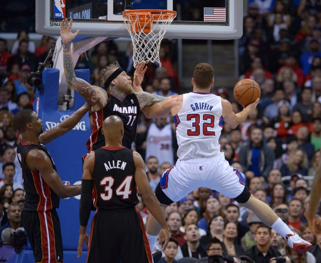 Miami Heat vs. Los Angeles Clippers - 11/20/14 NBA Pick, Odds, and Prediction