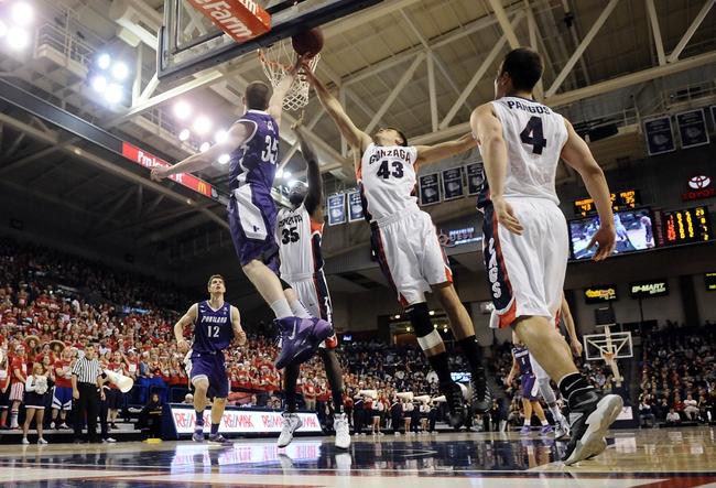 Portland vs. Gonzaga - 1/3/15 College Basketball Pick, Odds, and Prediction