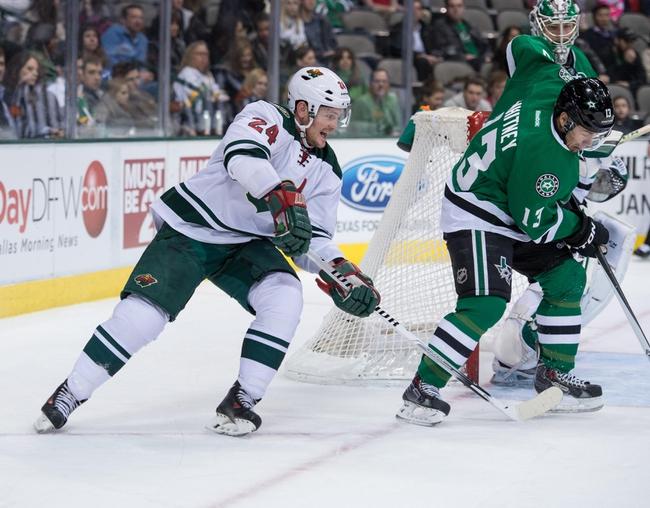 Minnesota Wild vs. Dallas Stars - 11/1/14 NHL Pick, Odds, and Prediction