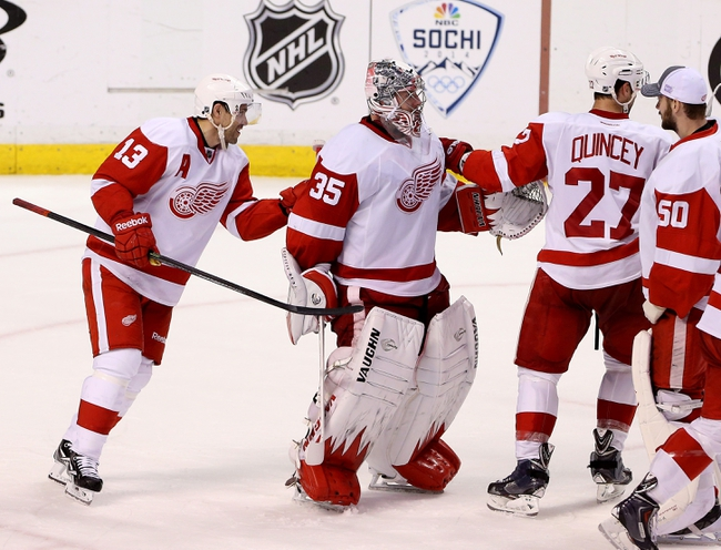 Detroit Red Wings vs. Florida Panthers - 12/2/14 NHL Pick, Odds, and Prediction