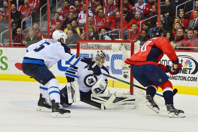 Washington Capitals vs. Winnipeg Jets - 2/19/15 NHL Pick, Odds, and Prediction