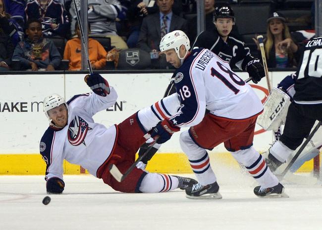 Los Angeles Kings vs. Columbus Blue Jackets - 10/26/14 NHL Pick, Odds, Prediction