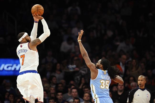 Knicks vs. Nuggets - 11/16/14 NBA Pick, Odds, and Prediction