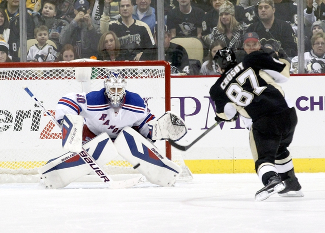 Pittsburgh Penguins vs. New York Rangers - 5/2/14