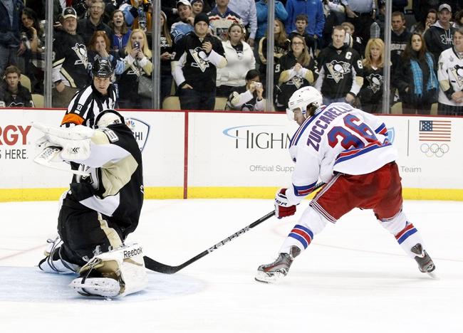 New York Rangers VS Pittsburgh Penguins- 5/2/14
