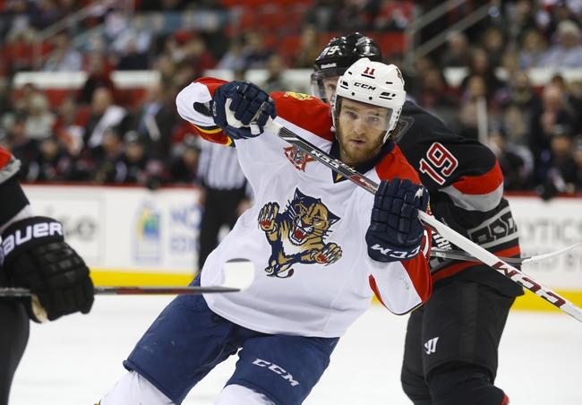 Florida Panthers vs. Carolina Hurricanes - 11/26/14 NHL Pick, Odds, and Prediction