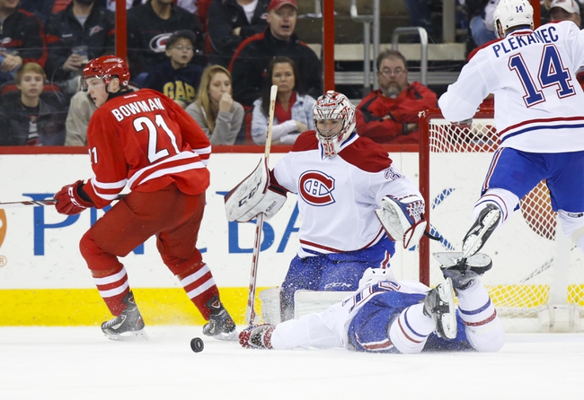 Canadiens vs. Hurricanes - 12/16/14 NHL Pick, Odds, and Prediction