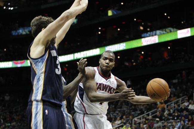 Hawks vs. Grizzlies - 1/7/15 NBA Pick, Odds, and Prediction