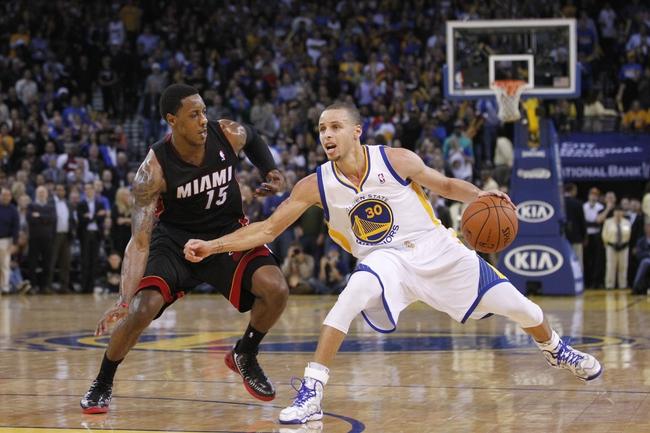 Miami Heat vs. Golden State Warriors 10/17/14 NBA Preseason Pick, Odds, Prediction
