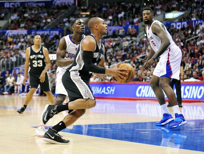 Clippers vs. Spurs - 11/10/14 NBA Pick, Odds, and Prediction