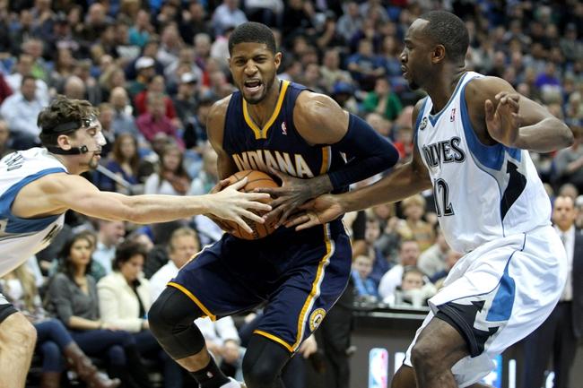 Minnesota Timberwolves vs. Indiana Pacers 10/21/14 NBA Preseason Pick, Odds, Prediction