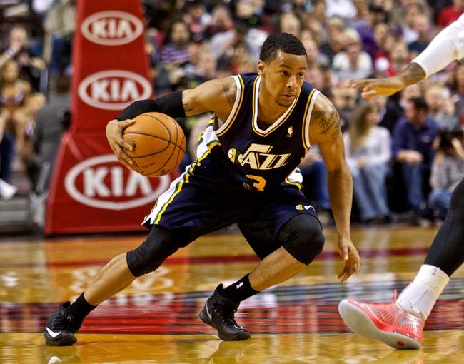 Utah Jazz vs. Portland Trail Blazers NBA Pick, Odds, Prediction 4/11/14