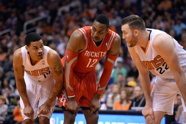 Suns vs. Rockets - 10/13/14 NBA Preseason Pick, Odds, Prediction