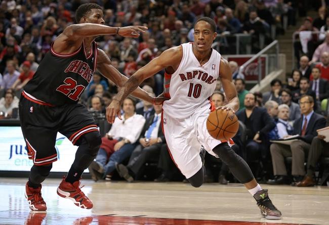 Toronto Raptors vs. Chicago Bulls - 11/13/14 NBA Pick, Odds, and Prediction