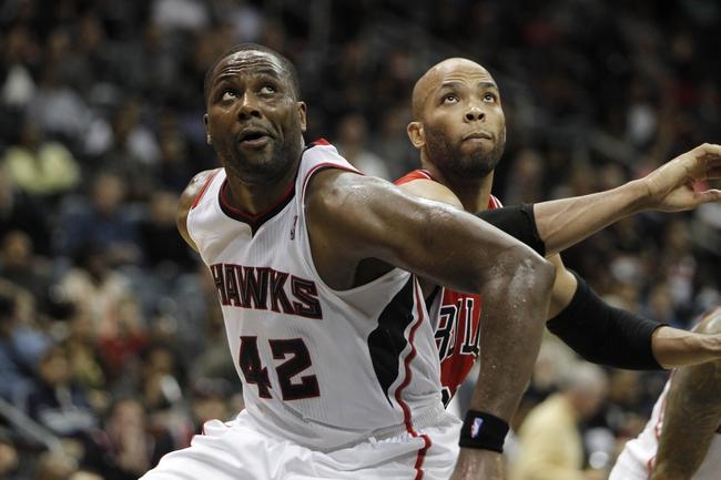 Atlanta Hawks vs. Chicago Bulls - 4/2/14