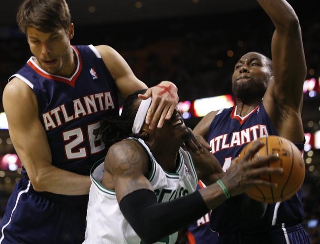 Atlanta Hawks vs. Boston Celtics - 4/9/14