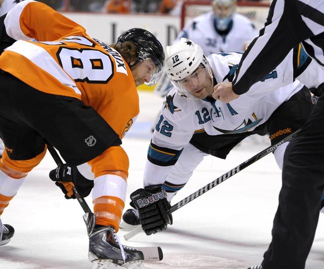 San Jose Sharks vs. Philadelphia Flyers - 12/2/14 NHL Pick, Odds, and Prediction