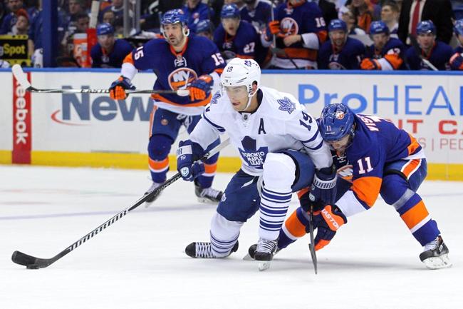 New York Islanders vs. Toronto Maple Leafs - 10/21/14 NHL Pick, Odds, Prediction