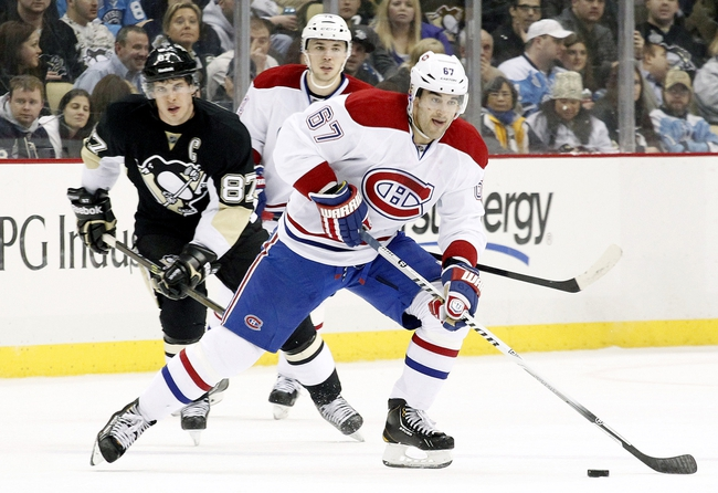 Montreal Canadiens vs. Pittsburgh Penguins - 11/18/14 NHL Pick, Odds, and Prediction