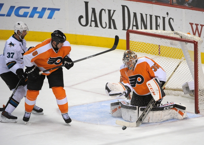 Flyers vs. Sharks - 3/28/15 NHL Pick, Odds, and Prediction