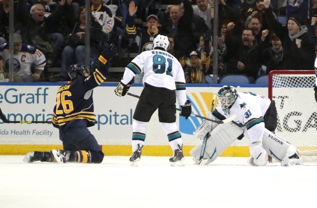 Sharks vs. Sabres - 10/25/14 NHL Pick, Odds, Prediction