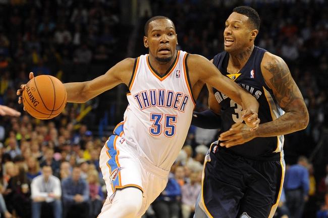 Oklahoma City Thunder vs. Memphis Grizzlies - 4/19/14