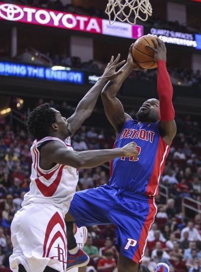 Detroit Pistons vs. Houston Rockets - 1/31/15 NBA Pick, Odds, and Prediction