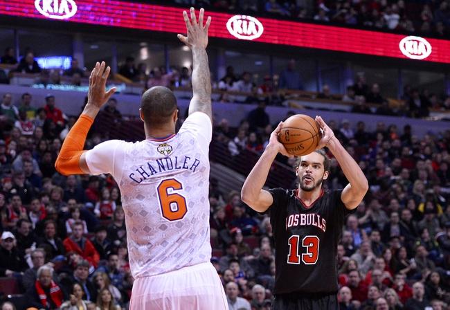 New York Knicks vs. Chicago Bulls NBA Pick, Odds, Prediction 4/13/14
