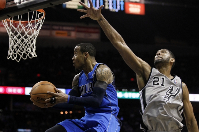 Dallas Mavericks vs. San Antonio Spurs - 4/10/14