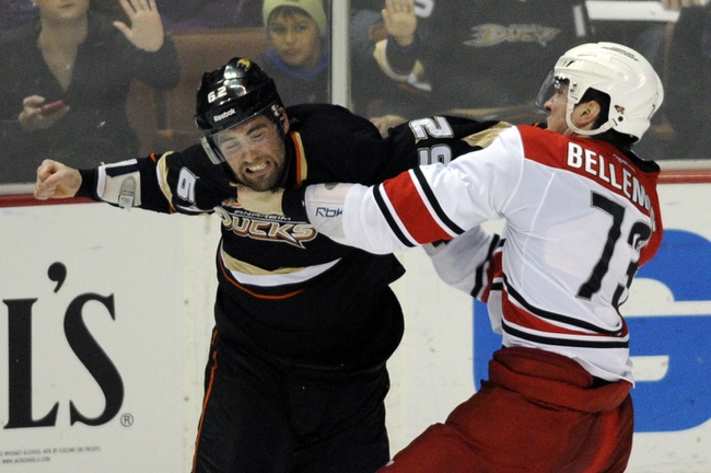 Hurricanes vs. Ducks - 2/12/15 NHL Pick, Odds, and Prediction