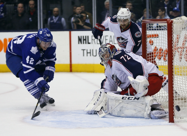 Columbus Blue Jackets vs. Toronto Maple Leafs - 10/31/14 NHL Pick, Odds, and Prediction