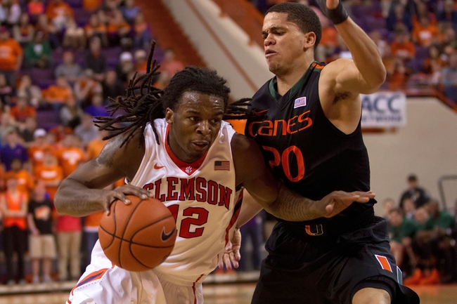 Miami Hurricanes vs. Clemson Tigers - 2/8/15 College Basketball Pick, Odds, and Prediction