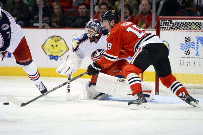 Columbus Blue Jackets vs. Chicago Blackhawks - 12/20/14 NHL Pick, Odds, and Prediction