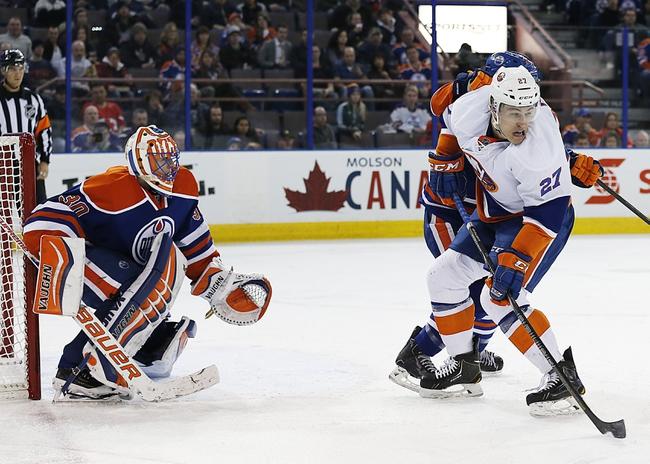 Edmonton Oilers vs. New York Islanders - 1/4/15 NHL Pick, Odds, and Prediction