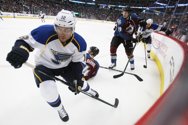 St. Louis Blues vs. Colorado Avalanche - 4/5/14