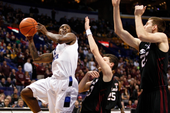 Southern Illinois Salukis vs. Murray State Racers - 12/22/14 College Basketball Pick, Odds, and Prediction