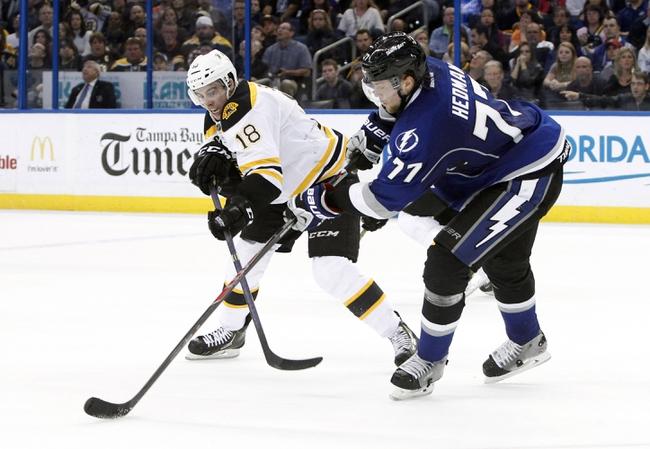 Bruins vs. Lightning - 1/13/15 NHL Pick, Odds, and Prediction