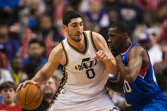 Utah Jazz vs. Philadelphia 76ers - 12/27/14 NBA Pick, Odds, and Prediction