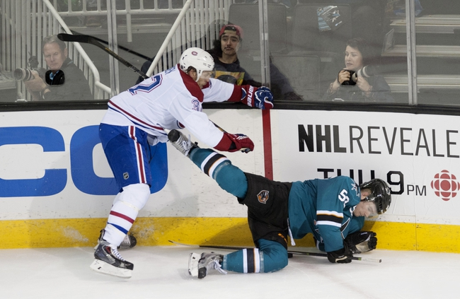 San Jose Sharks vs. Montreal Canadiens - 3/2/15 NHL Pick, Odds, and Prediction