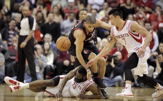 NBA Playoff Pick Portland Trail Blazers at Houston Rockets Pick, Odds, Prediction 4/20/14
