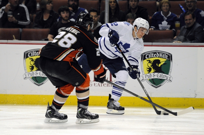Maple Leafs vs. Ducks - 12/16/14 NHL Pick, Odds, and Prediction
