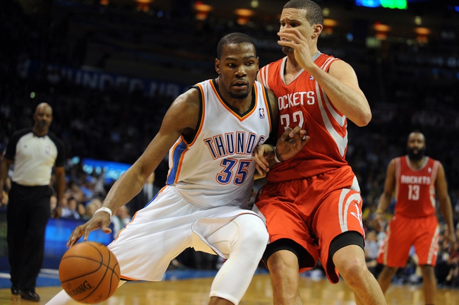 Houston Rockets vs. Oklahoma City Thunder - 4/4/14