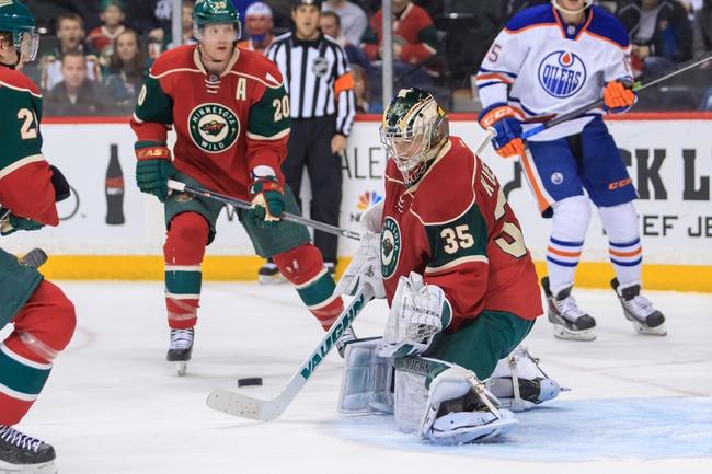 Edmonton Oilers vs. Minnesota Wild - 1/27/15 NHL Pick, Odds, and Prediction