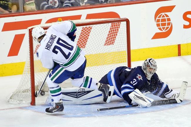 Vancouver Canucks vs. Winnipeg Jets - 2/3/15 NHL Pick, Odds, and Prediction