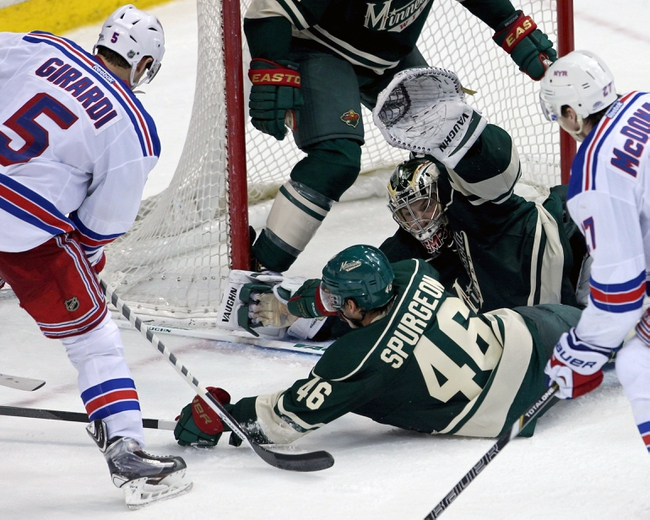 New York Rangers vs. Minnesota Wild - 10/27/14