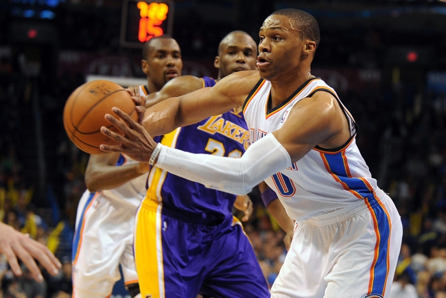 Los Angeles Lakers vs. Oklahoma City Thunder - 12/19/14 NBA Pick, Odds, and Prediction