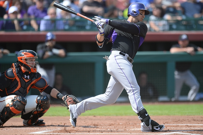 San Francisco Giants vs. Colorado Rockies - 4/11/14
