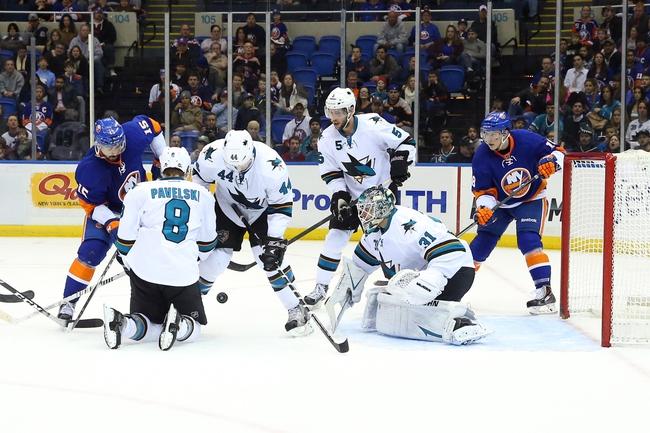 New York Islanders vs. San Jose Sharks - 10/16/14 NHL Pick, Odds, Prediction