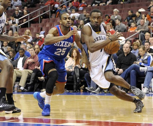 Memphis Grizzlies vs. Philadelphia 76ers - 4/11/14