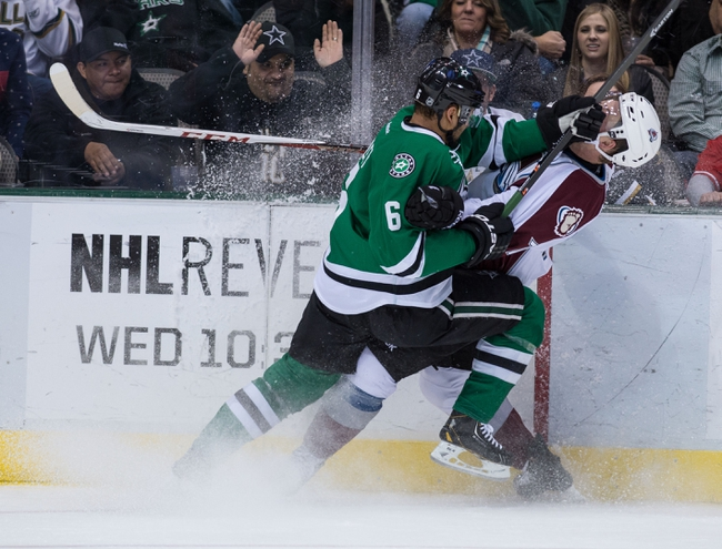 Avalanche vs. Stars - 1/10/15 NHL Pick, Odds, and Prediction